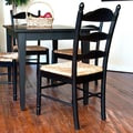 Carolina Cottage Vera Dining Chair; Antique Black