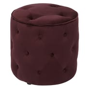 Office Star Ave Six Curves Tufted Ottoman
