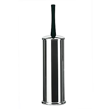 WS Bath Collections Koko Free Standing Toilet Brush and Holder; Black