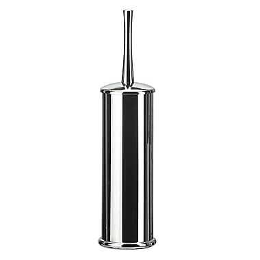 WS Bath Collections Koko Free Standing Toilet Brush and Holder; Chrome