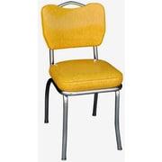 Richardson Seating Retro Home Side Chair; Yellow