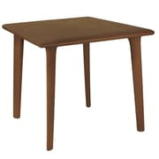 Resol Grupo Dessa Square Dining Table; Chocolate
