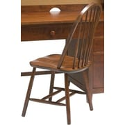 Bolton Furniture Wakefield Traditional Bow Back Desk Side Chair; Cherry