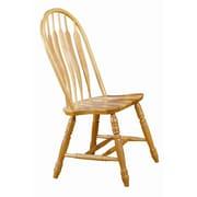 Sunset Trading Sunset Selections Comfort Back Side Chair; Rich Honey Light Oak