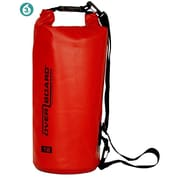 Overboard 12L Dry Tube Bag in Red