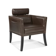 Moe's Home Collection Derby Leather Chair; Brown