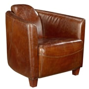 Moe's Home Collection Salzburg Leather Arm Chair