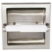 Design House Millbridge Recessed Toilet Paper Holder; Satin Nickel