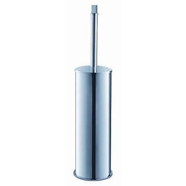 Fresca Chrome Free Standing Toilet Brush and Holder