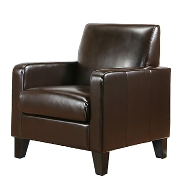 Abbyson Living Soho Bi-Cast Leather Chair