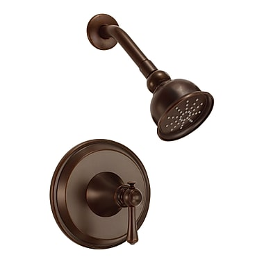 Danze Cape Anne Volume Shower Faucet Trim w/ Lever Handle; Tumbled Bronze