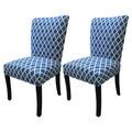Sole Designs Julia Parson Chair (Set of 2); Blue