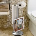 Better Living Products Free Standing The Toilet Caddy; Chrome