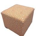 Sole Designs Amelia Chain Tufted Ottoman