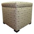 Sole Designs Tami Ottoman; Bonjour Blush
