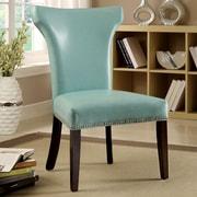 Hokku Designs Modern Side Chair (Set of 2); Turquoise