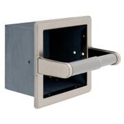 Franklin Brass Toilet Paper Holder; Satin Nickel