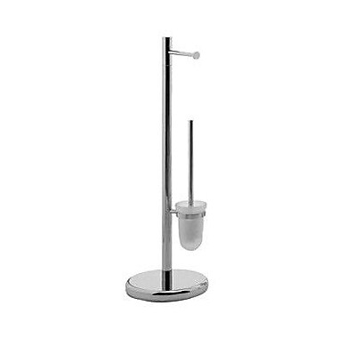 Gedy by Nameeks Tracy Free Standing Toilet Brush and Holder