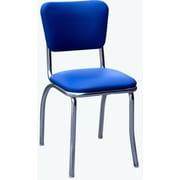 Richardson Seating Retro Home Side Chair; Royal Blue