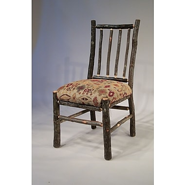 Flat Rock Furniture Berea Rail Back Side Chair; Apache