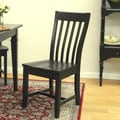 Carolina Cottage Prairie Side Chair; Antique Black