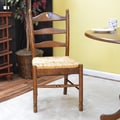 Carolina Cottage Maggie Rooster Ladder Back Chair; American Oak