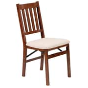 Stakmore Arts and Crafts Chair (Set of 2); Fruitwood