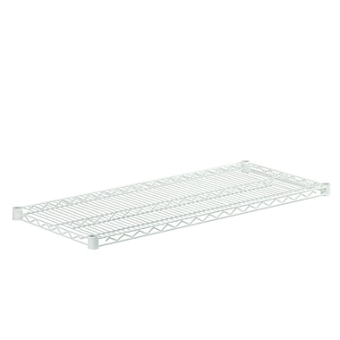 Honey-Can-Do Powder Coated Plated Steel Wire Shelf