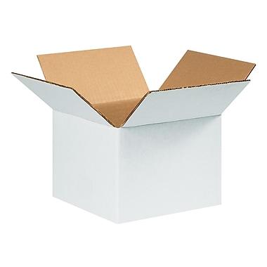 6''x6''x4'' Corrugated Shipping Box, 200#/ECT, 25/Bundle (664W)