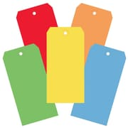 "BOX 4 3/4"" x 2 3/8"" #5 13 Point Shipping Tags, Assorted"