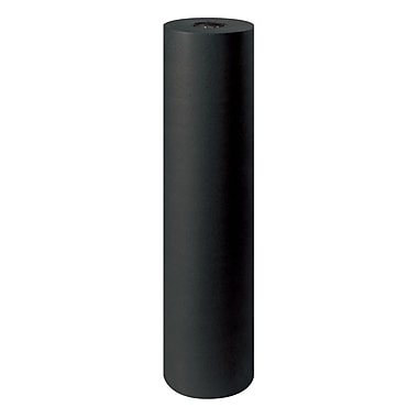 BOX 48in. x 720' 50# Kraft Paper, Black