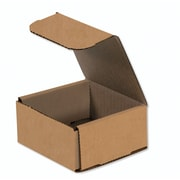 "04""x4""x2"" Partners Brand Corrugated Mailers, 50/Bundle (M442K)"