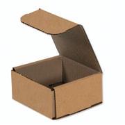 "04""x4""x2"" Partners Brand Corrugated Mailers, 50/Bundle (M442K)"