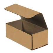 "08""x4""x3"" Partners Brand Corrugated Mailers, 50/Bundle (M843K)"