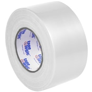 "Tape Logic™ 10 mil Duct Tape, 3"" x 60 yds., White, 3/Pack"