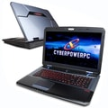 CyberPower PC Fangbook EVO (HFX7-1000) Gaming Laptop, 17.3in., 2.8GHz Intel Core i7-4810MQ, 120GB + 1TB HDD, 16GB RAM, English