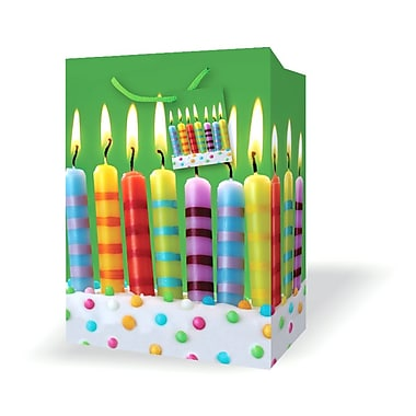 Small Birthday Bags, Candles, 12/Pack