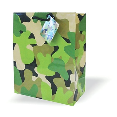 Medium Bags, Green, 12/Pack
