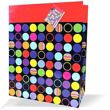 Large General Bags, Polka Dots, 12/Pack