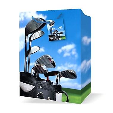 Jumbo Masculine Bags, Golf, 12/Pack