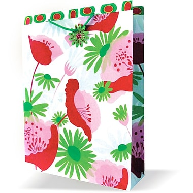 Jumbo Feminine Bags, Floral, 12/Pack