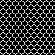 2 Sheet Flat Wrap, Black/White, 12/Pack