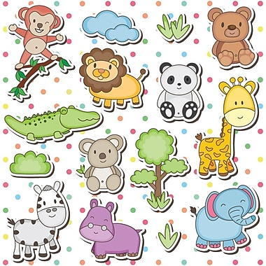 Baby Wrap Roll, Animals, 10/Pack