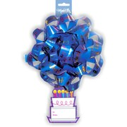 """Confetti 6"""" Bows with Tag, 12/Pack"""