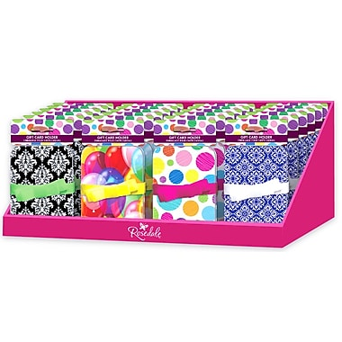 Gift Card Holder Tins with Ribbon Attachment, 24/Pack