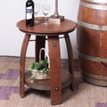 2 Day Barrel End Table