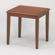 Lesro Weston Series End Table; Mahogany