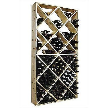Wine Cellar Country Pine 208 Bottle Floor Wine Rack