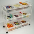 Copernicus 36.5'' Multi-Purpose Cart; Clear
