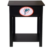 Fan Creations NFL End Table; Miami Dolphins